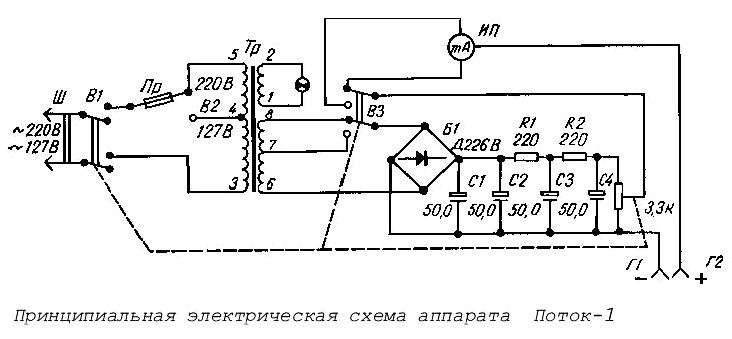 Паспорт и схема гальванизатора