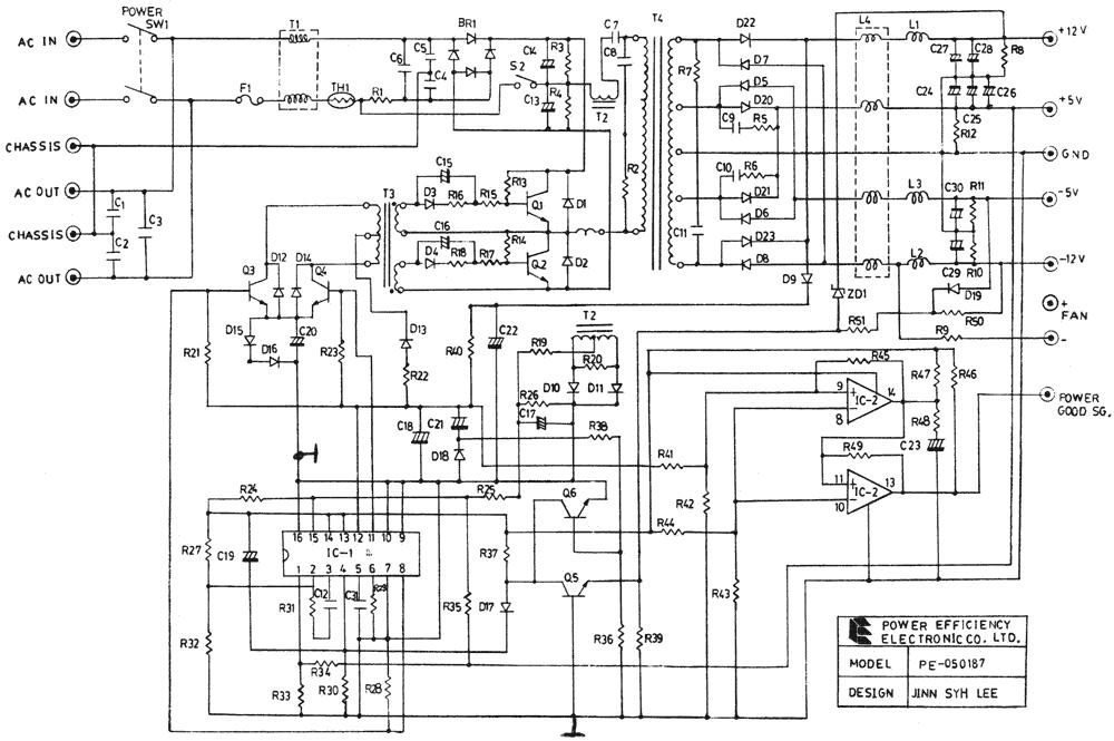 Схема PE-050187 от Power