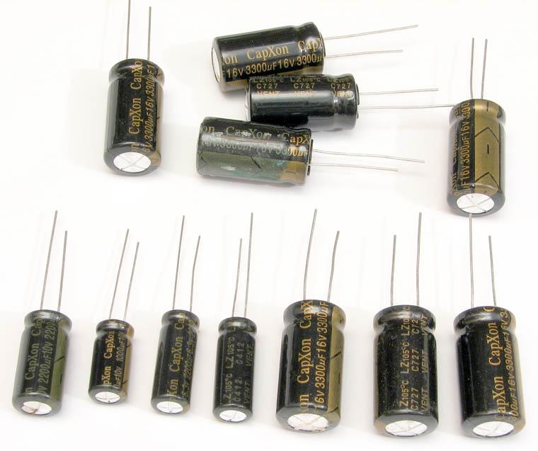 Бракованные, вздувшиеся электролиты CapXon